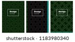 dark green vector template for...