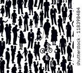 Pattern   Crowd Of People...