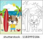 vector cartoon illustration... | Shutterstock .eps vector #1183993186