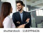 confident business people...   Shutterstock . vector #1183996636
