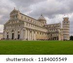 pisa  italy   october 2012 ... | Shutterstock . vector #1184005549