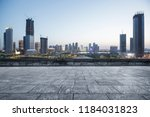 city skyscrapers and city...   Shutterstock . vector #1184031823