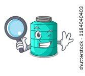 detective plastic cartoon water ... | Shutterstock .eps vector #1184040403