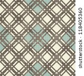 retro geometric seamless... | Shutterstock .eps vector #118405360