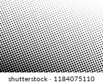 black and white dots background.... | Shutterstock .eps vector #1184075110