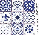 portuguese vector tile seamless ...