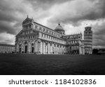 pisa  italy   october 2012 ... | Shutterstock . vector #1184102836