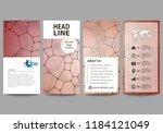 flyers set  modern banners.... | Shutterstock .eps vector #1184121049