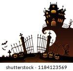 Halloween House Silhouette...