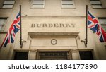 london  march  2018  exterior... | Shutterstock . vector #1184177890