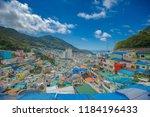busan  korea  august 30  2018 ... | Shutterstock . vector #1184196433