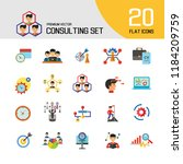 Consulting Icon Set. Changes...