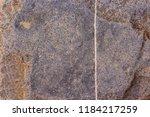 texture of a bluish gray stone... | Shutterstock . vector #1184217259