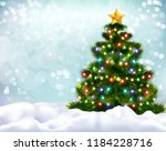 realistic background with... | Shutterstock .eps vector #1184228716