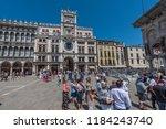 venice  italy   june 16  2018 ... | Shutterstock . vector #1184243740