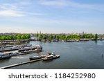 amsterdam netherlands 05 05... | Shutterstock . vector #1184252980