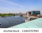 amsterdam netherlands 05 05... | Shutterstock . vector #1184252983