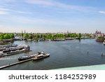 amsterdam netherlands 05 05... | Shutterstock . vector #1184252989