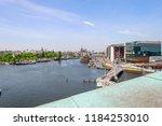 amsterdam netherlands 05 05... | Shutterstock . vector #1184253010