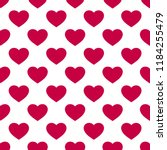 raster seamless pattern with... | Shutterstock . vector #1184255479