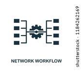 network workflow icon....