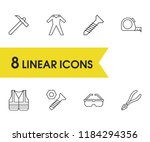 instrument icons set with...
