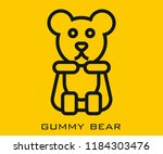 gummy bear icon signs