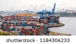 vladivostok  russia   august 24 ... | Shutterstock . vector #1184306233