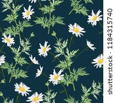 vector seamless pattern with... | Shutterstock .eps vector #1184315740