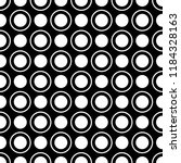 seamless pattern of dots and... | Shutterstock .eps vector #1184328163