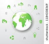 protect environment vector | Shutterstock .eps vector #1184338369