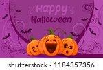 cartoon cute vector pumpkin...   Shutterstock .eps vector #1184357356