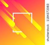 trendy gradient shapes... | Shutterstock .eps vector #1184372083