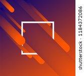 trendy gradient shapes... | Shutterstock .eps vector #1184372086