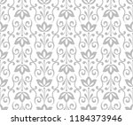 flower geometric pattern.... | Shutterstock .eps vector #1184373946