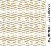 golden raster geometric... | Shutterstock . vector #1184380903