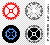 clock gear eps vector...   Shutterstock .eps vector #1184386093
