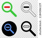 reduce scale eps vector...   Shutterstock .eps vector #1184386129