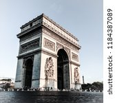 arc de triomphe   paris   france | Shutterstock . vector #1184387089