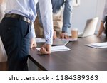 business group of office people ... | Shutterstock . vector #1184389363