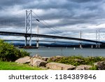 Two Bridges Over Firth Of Forth ...