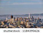 san francisco skyline view from ... | Shutterstock . vector #1184390626