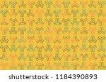 beautiful geometric pattern...   Shutterstock .eps vector #1184390893