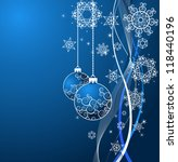 christmas background | Shutterstock .eps vector #118440196