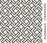 vector seamless pattern. modern ... | Shutterstock .eps vector #1184442490