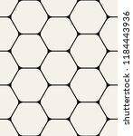 vector seamless pattern. modern ... | Shutterstock .eps vector #1184443936