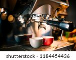 close up details of brewing... | Shutterstock . vector #1184454436