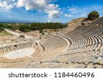 amphitheater  coliseum  in... | Shutterstock . vector #1184460496