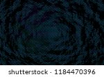 honeycomb on a blue green... | Shutterstock . vector #1184470396