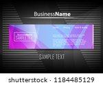violet purple background. blue... | Shutterstock .eps vector #1184485129